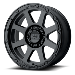 XD134 Addict 2 Matte Black 6 lug