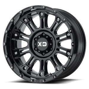 XD Series by KMC XD829 Hoss 2 6 Gloss Black