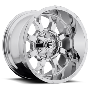 Fuel 1-Piece Wheels Krank - D516 8 Chrome Plated