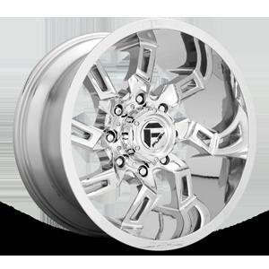 Fuel 1-Piece Wheels Lockdown - D746 8 Chrome