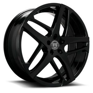 Lexani Wheels Bavaria 5 Black