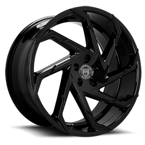 Lexani Wheels Cyclone 5 Black