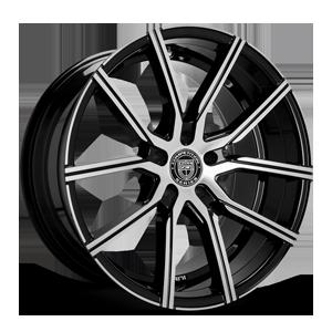 Lexani Wheels Gravity 5 Black Machined