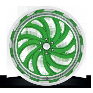 MAFIOSO 6 - FORGED HD Illusion Green Ice 6 lug