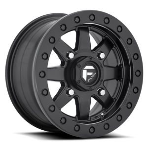 Fuel UTV Wheels Maverick - D936 Beadlock 4 14x7 | Black Center w/ Black Beadlock