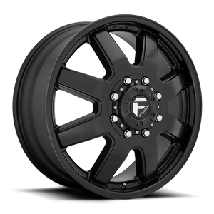 Maverick - D436 Dually Front Matte Black 8 lug