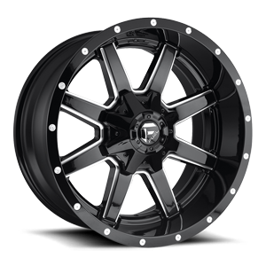 Fuel 1-Piece Wheels Maverick - D610 5 Gloss Black