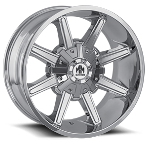 Mayhem Wheels Arsenal 6 Chrome