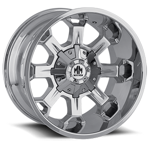 Mayhem Wheels Combat 6 Chrome