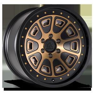 Mayhem Wheels Flatiron 6 Matte Black w/ Bronze Tint