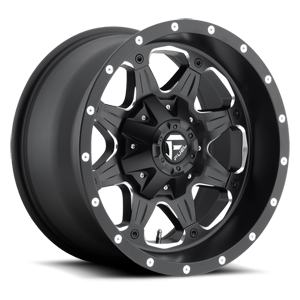 Boost - D534 Matte Black & Milled 5 lug