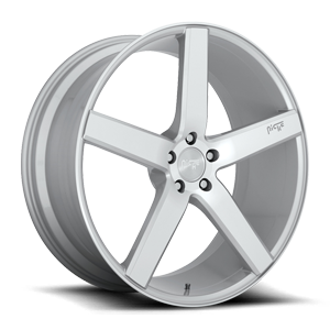 Niche Sport Series Milan - M135 5 22x9 | Silver/Machined