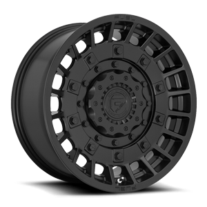 Fuel 1-Piece Wheels Militia - D723 6 Matte Black