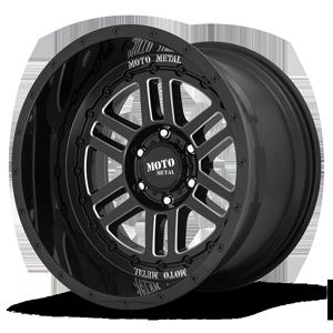 Moto Metal MO800-Deep Six 6 Gloss Black Milled