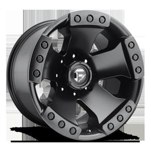 Fuel 1-Piece Wheels Monsta - D577 8 Matte Black