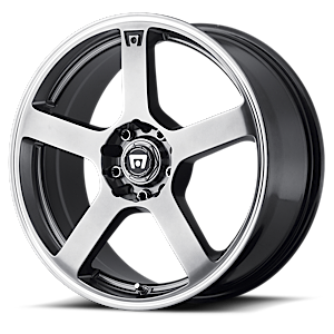 MR116 Dark Silver w/ Machined Flange 5 lug