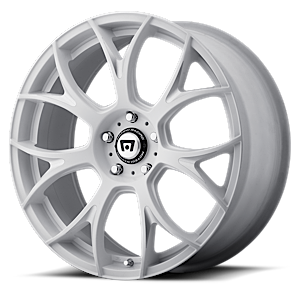Motegi Racing MR126 5 Matte White w/ Milled Accents