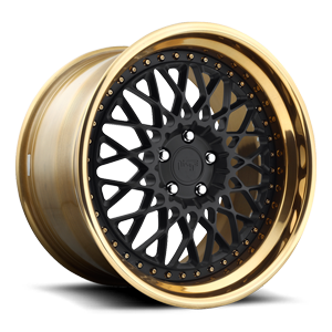 Niche Forged Citrine 5 Matte Black | Hi Luster Polished Lip w/ Monaco Copper Tint