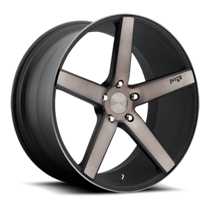 Niche Sport Series Milan - M134 5 Black & Machined with Dark Tint