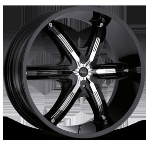 Milanni Wheels 460 Bel Air 6 6 Gloss Black