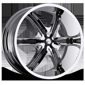 Milanni Wheels 460 Bel Air 6 6 Chrome