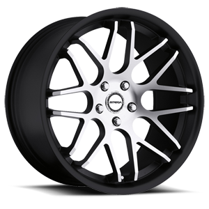 Strada Wheels Moda 5 Black Machined Face