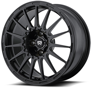 MR119 Rally Cross S Satin Black w/ Clear Coat 4 lug