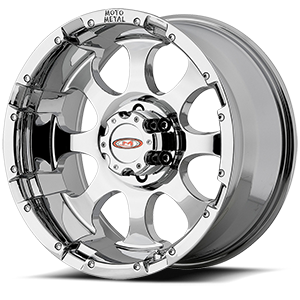 MO955 Chrome 6 lug