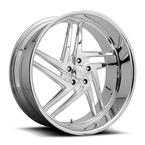 Nemesis 5 - Precision Series Polished 5 lug