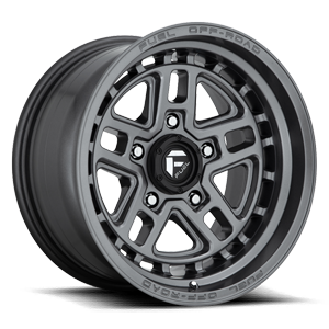 Fuel 1-Piece Wheels Nitro 5 - D668 5 Matte Anthracite