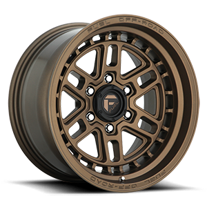 Fuel 1-Piece Wheels Nitro 6 - D669 6 Bronze