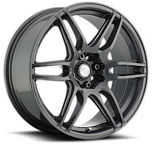 Niche Racing Series NR6 - M105 4 Anthracite & Milled Spoke