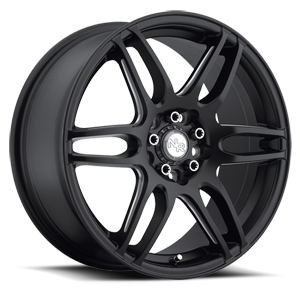 Niche Racing Series NR6 - M106 5 Stone Black & Milled Spoke