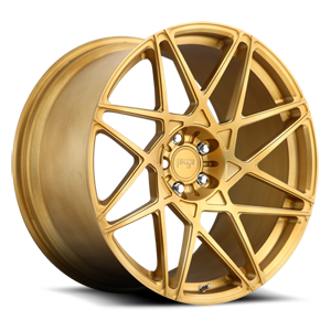 Alpine-D Brushed Transparent Matte Gold 5 lug