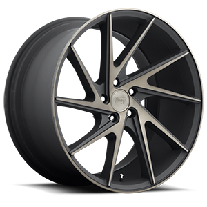 Niche Sport Series Invert - M163 5 Black & Machined with Dark Tint 20x10.5