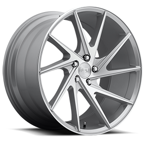 Niche Sport Series Invert - M162 5 Silver & Machined 20x10.5