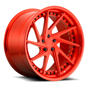 Niche Forged Invert 5 Brushed Trans Matte Red/Brushed Trans Gloss Red