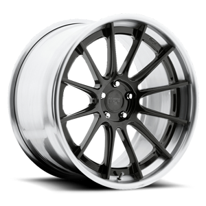 Niche Forged Agile 5 Gloss Candy Black | Brushed Gloss Clear