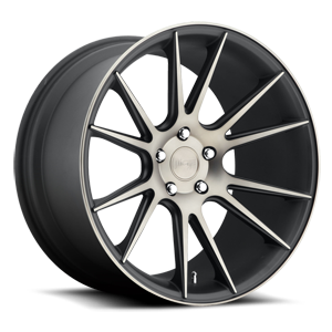 Vicenza - M153 Black & Machined with Dark Tint 5 lug
