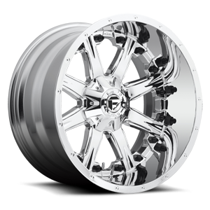 Fuel Deep Lip Wheels Nutz - D540 5 Chrome