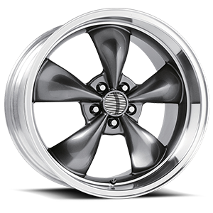 O.E. Performance 106 5 Anthracite with Machined