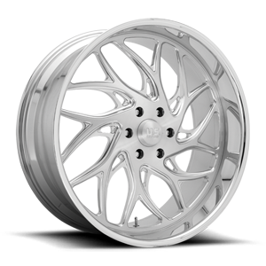 Onyx 6 - Precision Series Brushed w/ Polish 6 lug