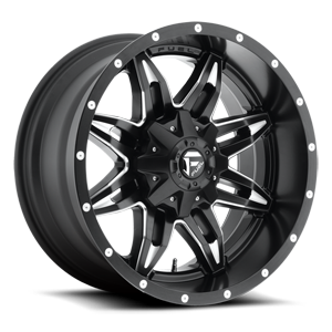 Fuel 1-Piece Wheels Lethal - D567 5 Black & Milled
