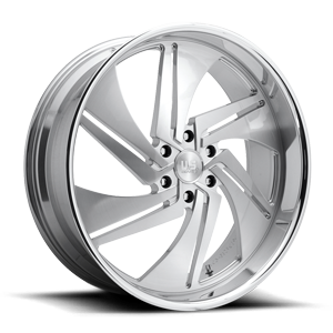 Phantom 6 - Precision Series Brushed w/ Polished Lip 6 lug