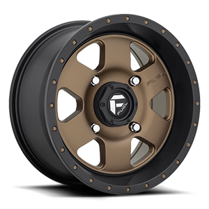 Fuel UTV Wheels Podium - D617 - UTV 4 Bronze w/ Black Lip