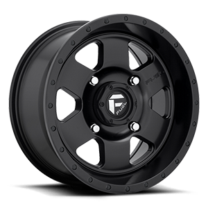 Fuel UTV Wheels Podium - D618 - UTV 4 Satin Black