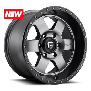 Fuel 1-Piece Wheels Podium - D619 6 Anthracite with Black Lip