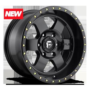 Fuel 1-Piece Wheels Podium - D618 6 Satin Black