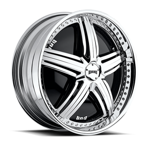 DUB Spinners Padrone - S769 5 Chrome