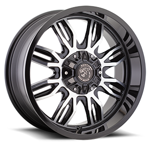 Panther Off-Road 580 8 Gloss Black Machined
